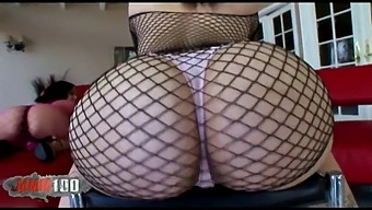 Two Big Booty For Anal Sex With Big Black Cock
